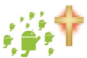 Androids Praying