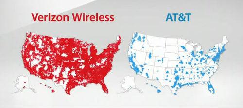 Verizon-AT&T Map